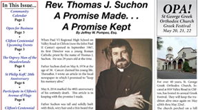 Rev. Thomas J. Suchon A Promise Made a Promise Kept - Jeff Pompeo