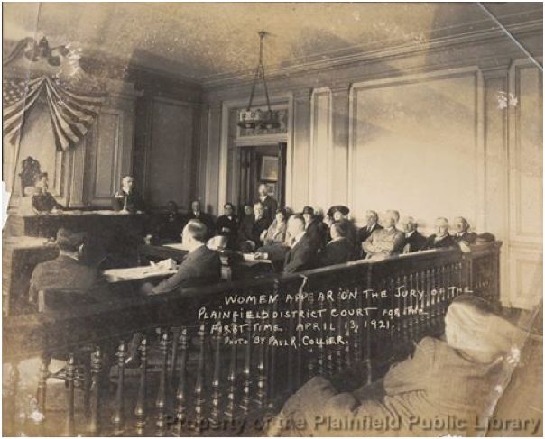 First Women Jurors